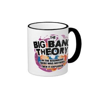 La teoría de Big Bang Taza De Dos Colores