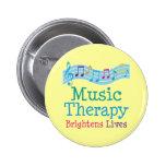 La terapia de música aclara vidas pins
