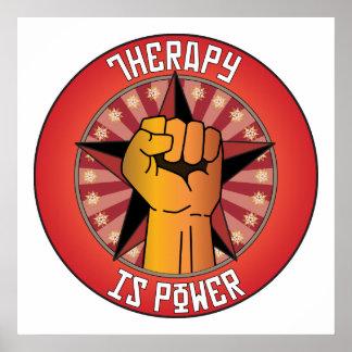La terapia es poder impresiones