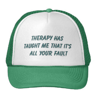 La terapia me ha enseñado a los gorras