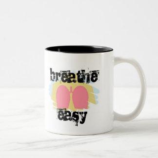 La terapia respiratoria respira la taza fácil RT
