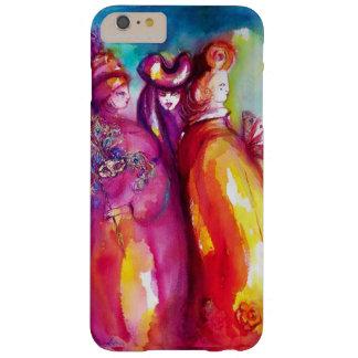 La TERCERA MÁSCARA/la bola de mascarada veneciana Funda De iPhone 6 Plus Barely There
