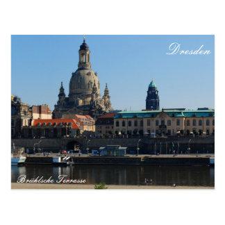 La terraza Brühlsche en Dresden