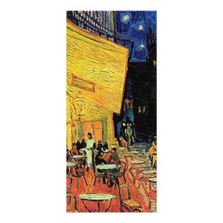 La terraza del café en el lugar du forum, Arles, Lona Personalizada