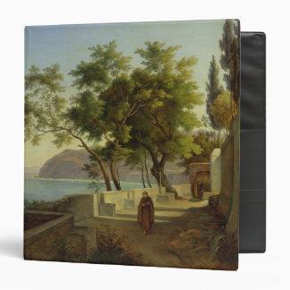 La terraza del Capucins en Sorrento, 1828