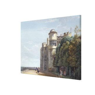 La terraza del norte, castillo de Windsor, parecie Impresiones De Lienzo