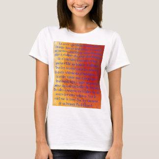 La terre est bleue comme une orange... T-Shirt