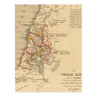 La Terre Sainte sous Salomon Postcard