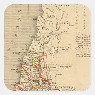 La Terre Sainte sous Salomon Square Sticker