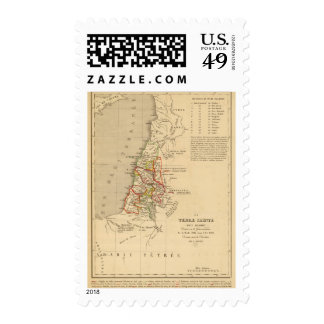 La Terre Sainte sous Salomon Stamp