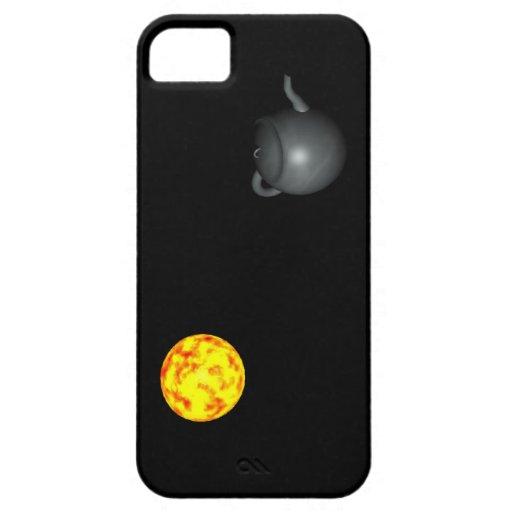 La tetera de Russell - caso del iPhone 5 iPhone 5 Carcasas