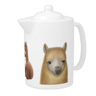 La tetera del amor de la alpaca