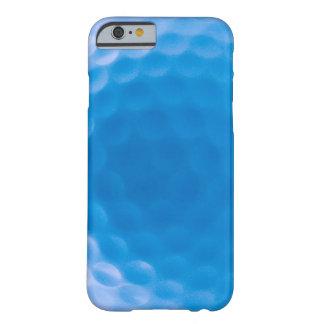 La textura de la pelota de golf forma hoyuelos el funda de iPhone 6 barely there