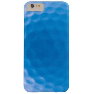 La textura de la pelota de golf forma hoyuelos el funda de iPhone 6 plus barely there