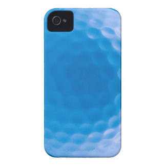 La textura de la pelota de golf forma hoyuelos el iPhone 4 Case-Mate cárcasas