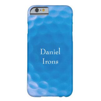 La textura de la pelota de golf forma hoyuelos funda de iPhone 6 barely there