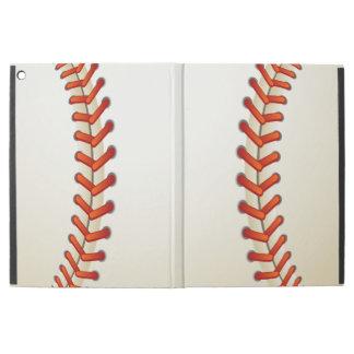 La textura del béisbol cosió mirada de la bola