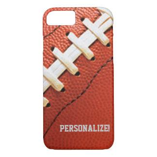 La textura del fútbol personalizó la caja del funda iPhone 7