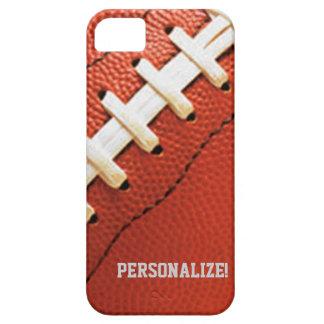 La textura del fútbol personalizó la caja iPhone5 iPhone 5 Carcasa