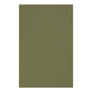 La textura DIY del verde verde oliva crea su propi Papelería Personalizada