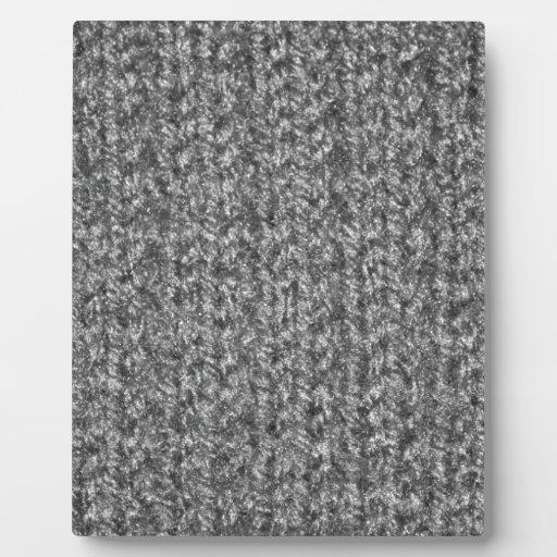 La textura que hacía punto de gris/del gris colore placa para mostrar