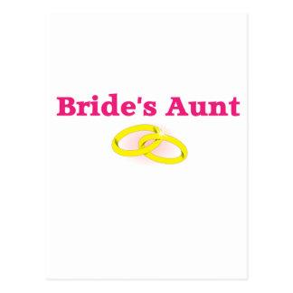 La tía de la novia/la tía de la novia tarjetas postales