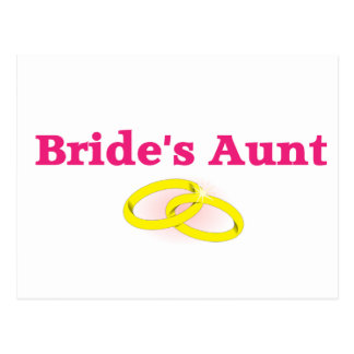 La tía de la novia/la tía de la novia postal