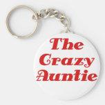 La tía loca llavero