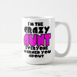 La tía loca Mug Taza