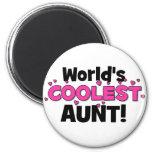 ¡La tía más fresca del mundo!  Gran regalo para tí Iman Para Frigorífico