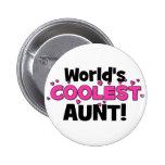 ¡La tía más fresca del mundo!  Gran regalo para tí Pins
