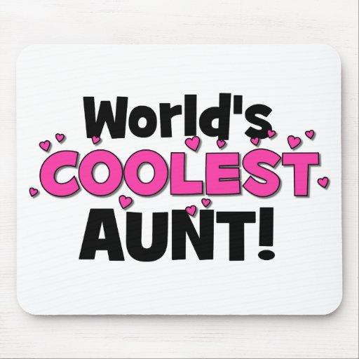 ¡La tía más fresca del mundo!  Gran regalo para tí Tapete De Ratones