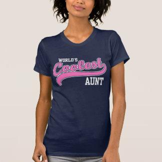 La tía más fresca del mundo camisetas