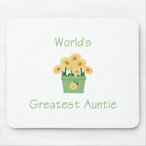 La tía más grande del mundo (flor) tapetes de ratones