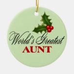 La tía más grande del mundo ornato