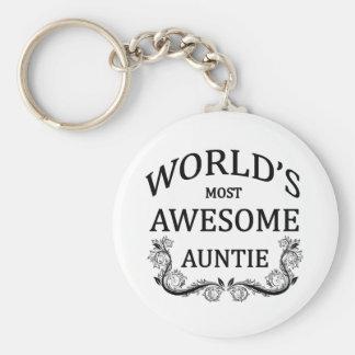 La tía más impresionante del mundo llavero