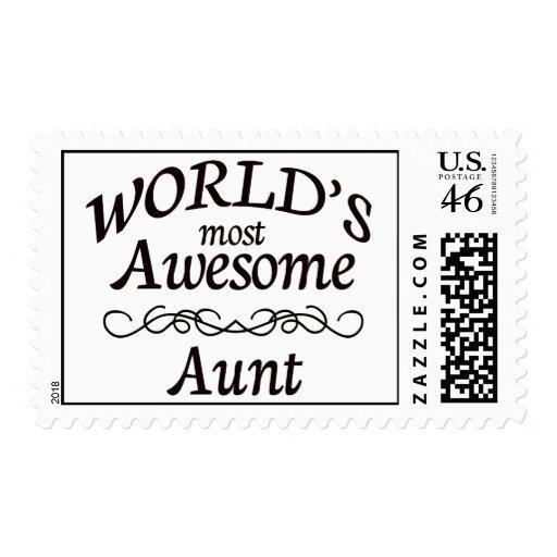 La tía más impresionante del mundo franqueo
