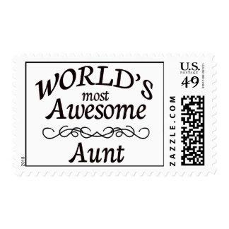 La tía más impresionante del mundo sellos
