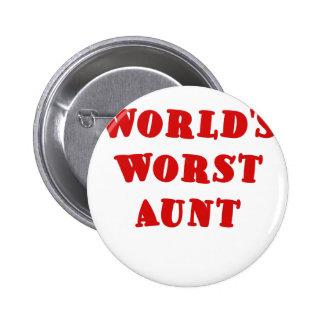 La tía peor de los mundos pin