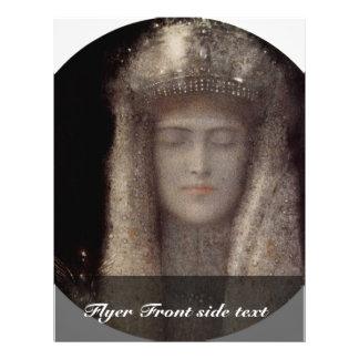 La tiara de plata de Khnopff Fernando (la mejor ca Tarjetones