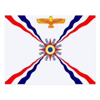 La tienda asiria de Syriac del caldeo Tarjeta Postal