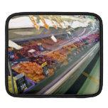 La tienda de delicatessen de la carne fresca contr funda para iPads