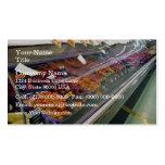La tienda de delicatessen de la carne fresca contr tarjeta personal