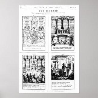 La tienda de la ginebra póster