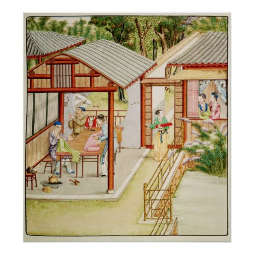 La tienda de la modista china póster