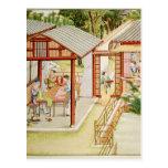 La tienda de la modista china tarjetas postales