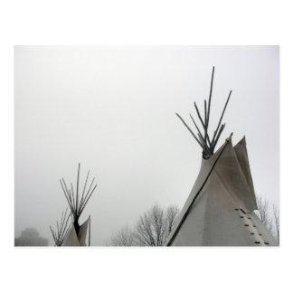 La tienda de los indios norteamericanos remata la  tarjetas postales