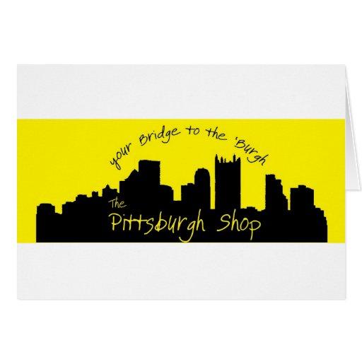 La tienda de Pittsburgh Tarjeta De Felicitación
