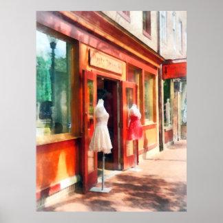 La tienda de ropa derriba el MD del punto Impresiones