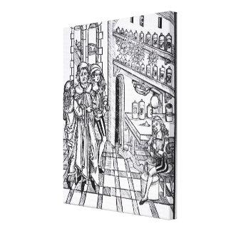 """La tienda del boticario, """"del pub de Cirugia del d Lona Envuelta Para Galerias"""